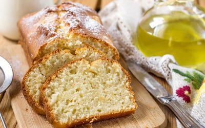 Olive Oil Yogurt Cake Recipe!