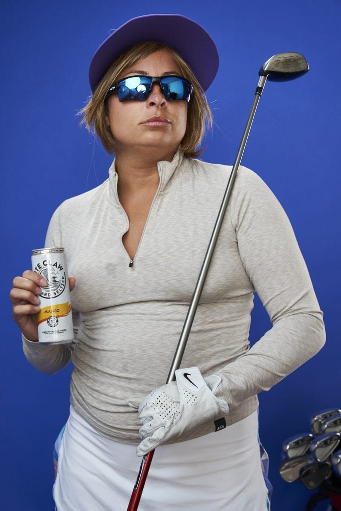 White Claw Golfer Housewife